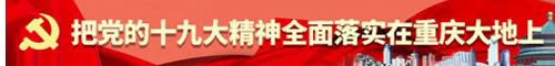 把党的十九大精神全面落实到重庆大地上