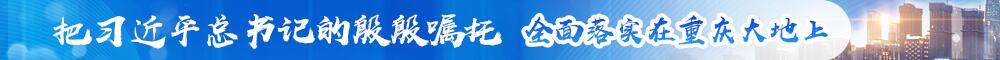 把习近平总书记的殷殷嘱托全面落实在重庆大地上