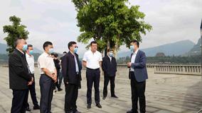 水利部副部长蒋旭光来云阳调研三峡后续项目实施情况