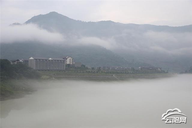 云阳:如梦如幻平流雾 瞬间美成仙境