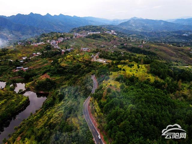 云阳国省县道干线公路全面改造升级已完成274公里