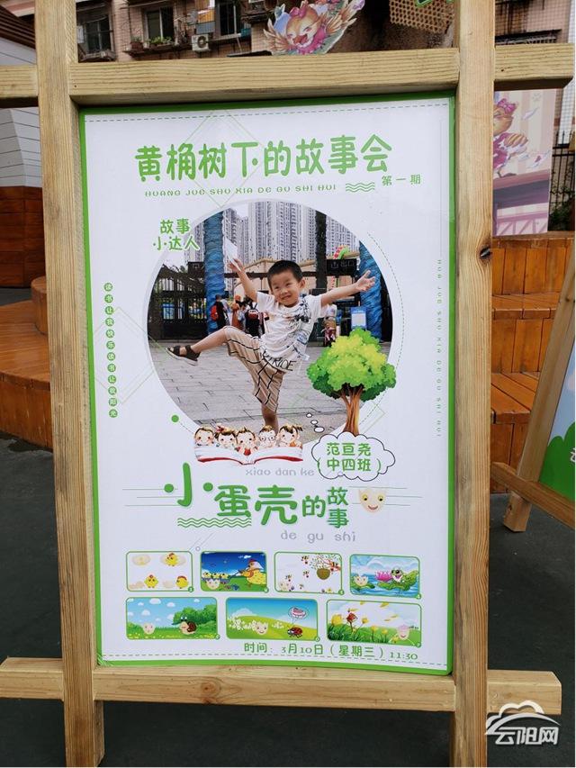 云师幼儿园:黄桷树下故事会 浸润童心共成长