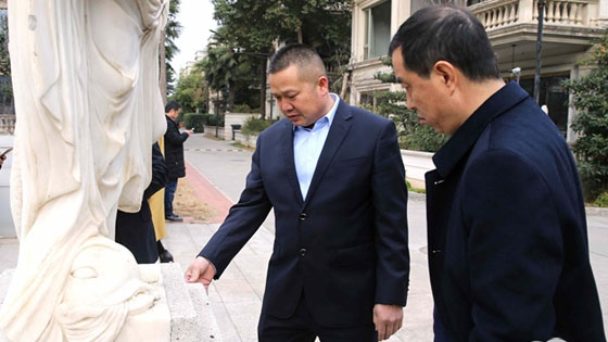 """姜伟:""""促进家乡发展是我的心愿"""""""