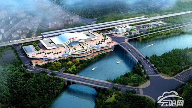 郑万高铁云阳站综合交通枢纽规划方案出炉